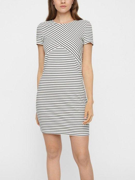 Dress Woman White Vero Moda