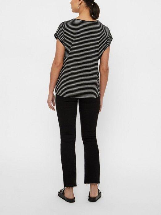 T-Shirt Woman Black Vero Moda