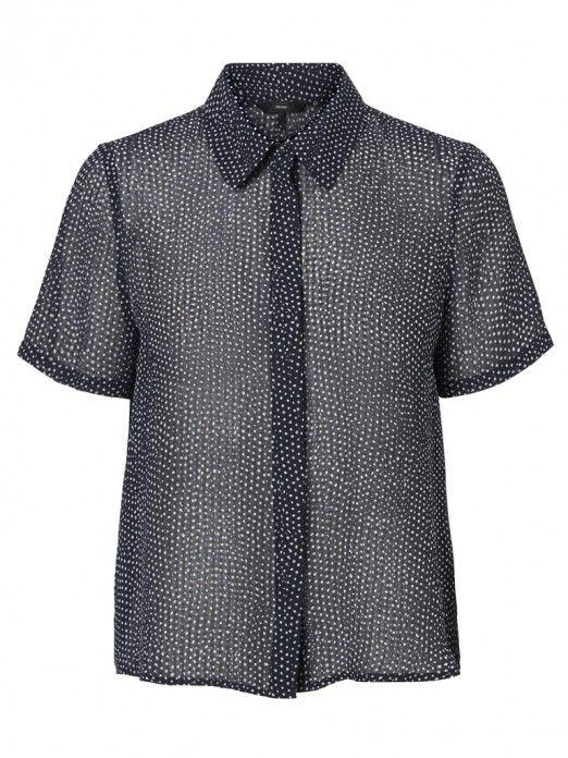 Camisas Mujer Azul Marino Vero moda 10211817