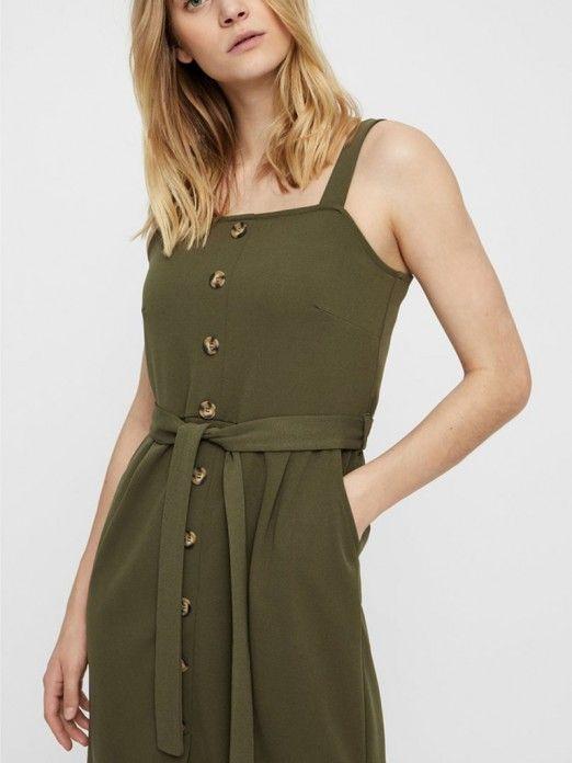 Vestidos Mujer Verde Vero moda 10212952