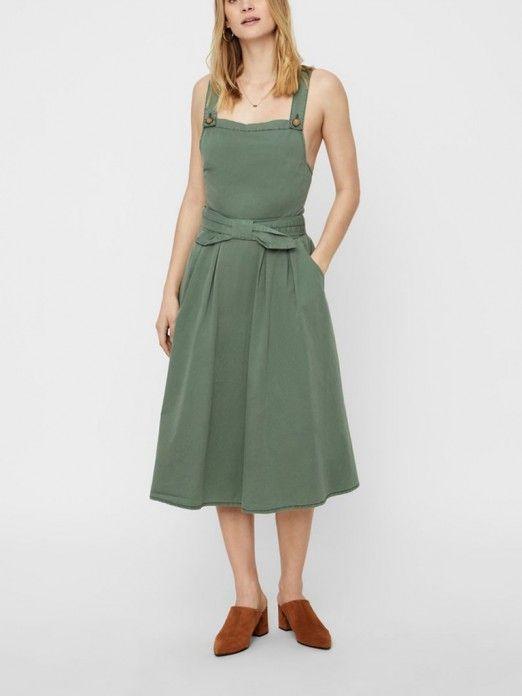 Vestidos Mujer Verde Vero moda 10213871