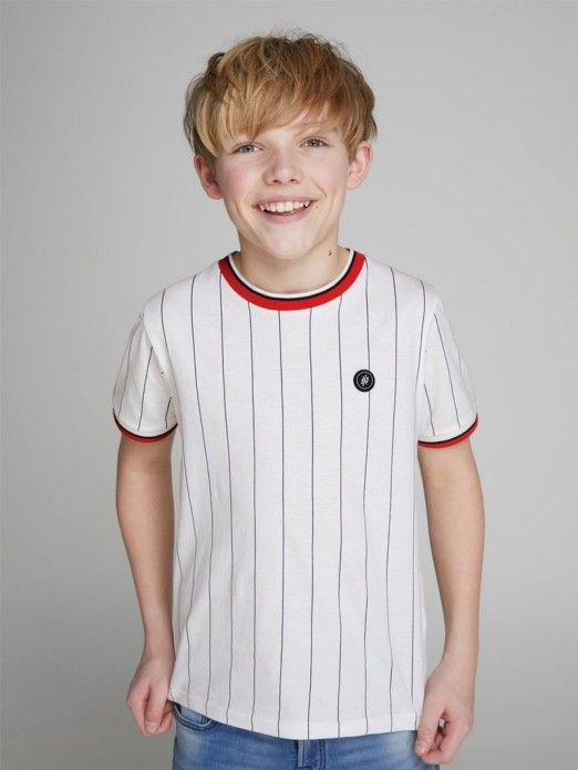 fdc9c3aab T-Shirt Boy White Jack Jones 12149890
