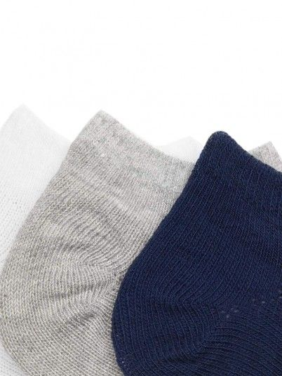 Set meias lisas bebé menino Mayoral