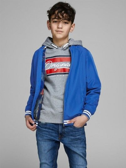 Chaqueta Niño Azul Jack Jones 12153047
