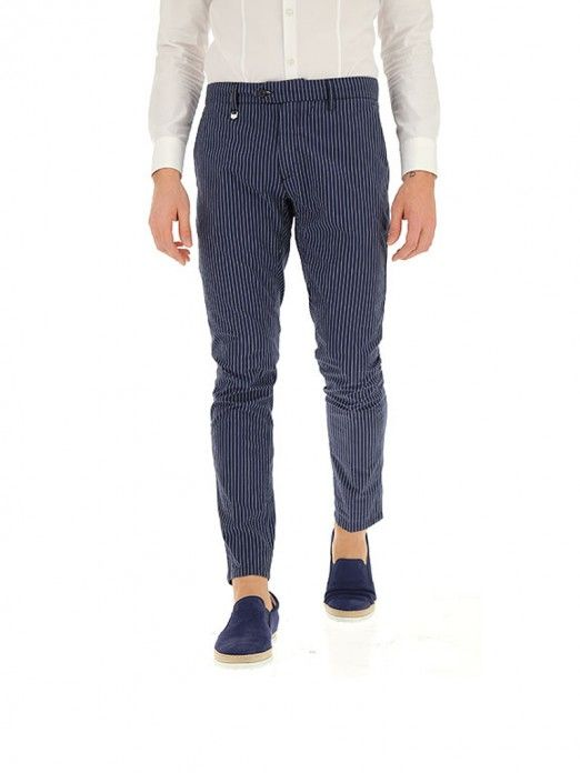 Pantalones Hombre Azul Marino Antony Morato Mmtr00496fa850190 Mellmak