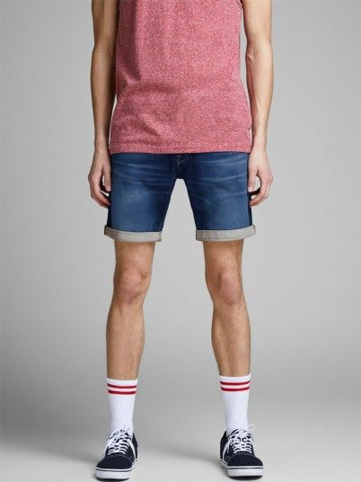 Shorts Men Jeans Dark Jack & Jones 12147065