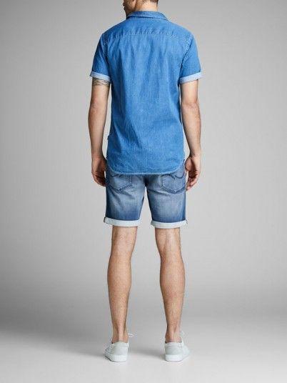 Shorts Men Jeans Dark Jack & Jones 12147066