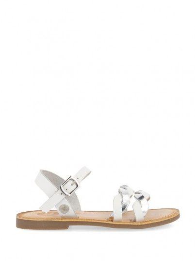 Sandals Girl Silver Gioseppo 48611