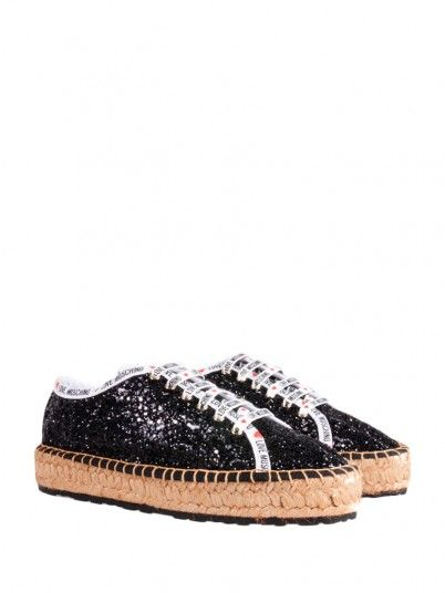 Sneakers Woman Black Love Moschino