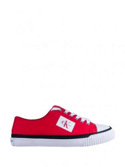 Sneakers Woman Red Calvin Klein