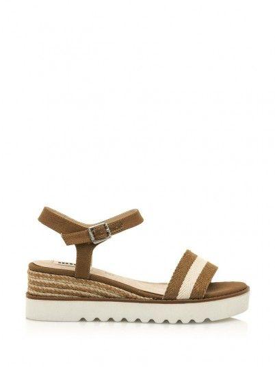 Sandals Woman Light Brown Mtng