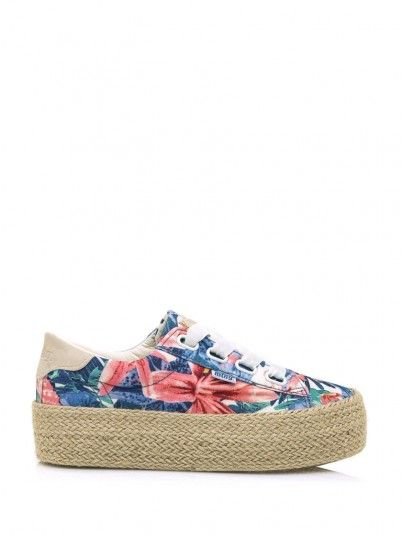 Sneakers Woman Floral Mtng