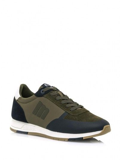 Sneaker Men Moss Green Mustang 84225