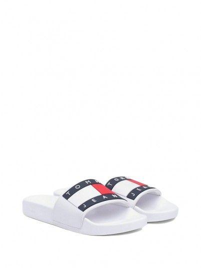 04c8c9194d82 Flip Flops Women White Tommy EN0EN00474 ...