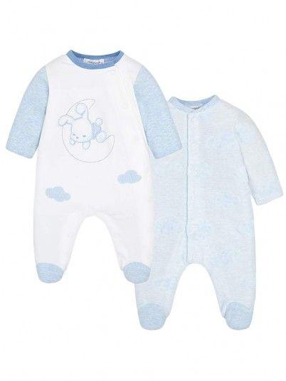 Set pijamas compridas bebé recém nascido Mayoral
