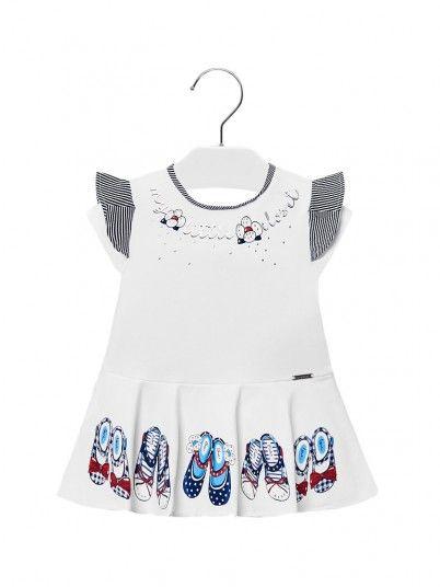 Vestido malha sapatos bebé menina Mayoral