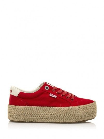 Sneakers Woman Red Mtng