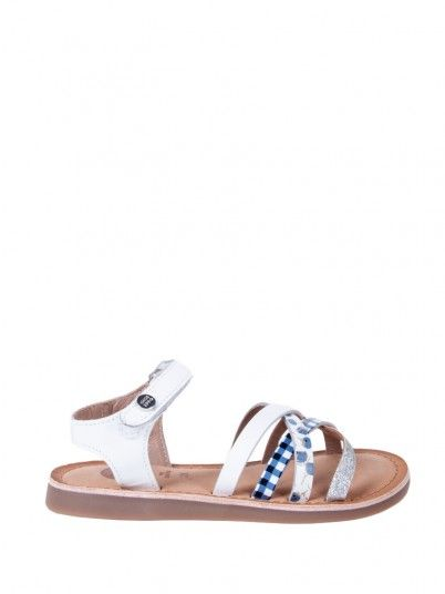 Sandals Girl White Gioseppo 47171
