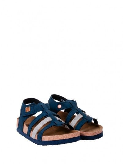 Sandals Girl Navy Blue Gioseppo 47458