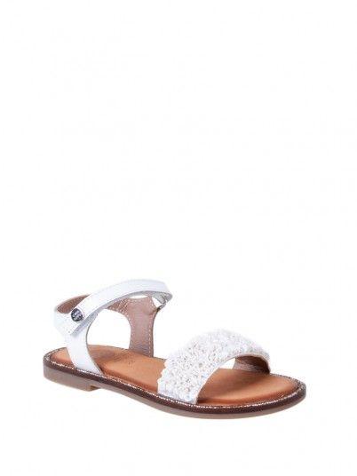 Sandals Girl White Gioseppo 47865