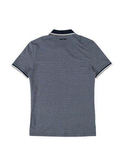 Polo Shirt Men Navy Blue Antony Morato MMKS01456FA140150