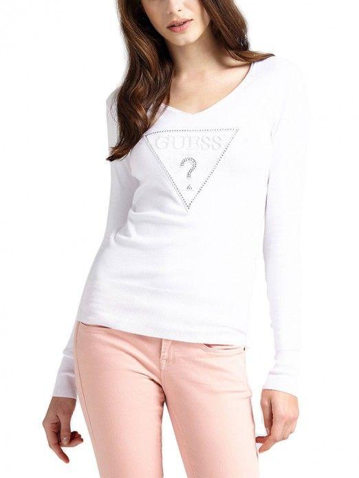Knitwear Women White Guess W91R67Z2760