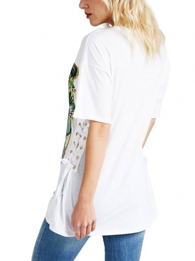 T-SHIRT MULHER EXOTIC GUESS