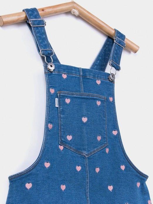 Vestido Niña Jeans Tiffosi Kids