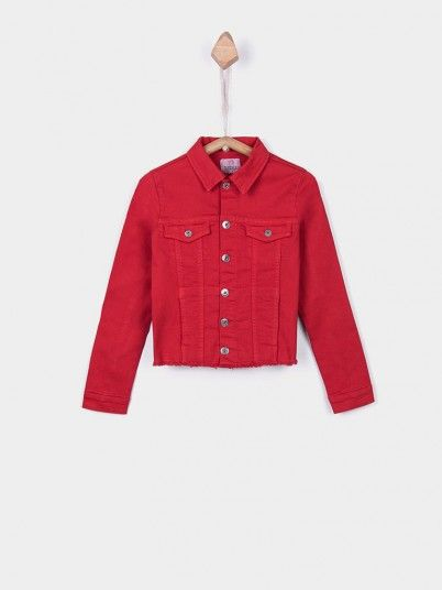 Jackets Girl Red Tiffosi Kids 10027018