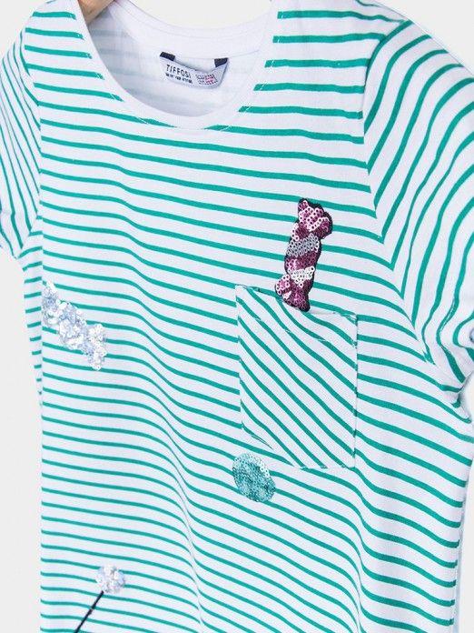 T-Shirt Menina Lana Tiffosi