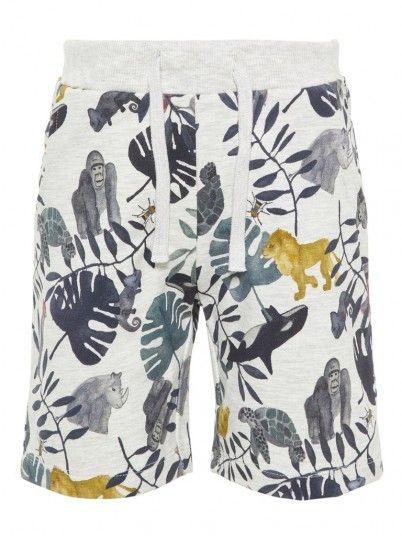 Pantalones cortos Niño Gris Name It 13163519