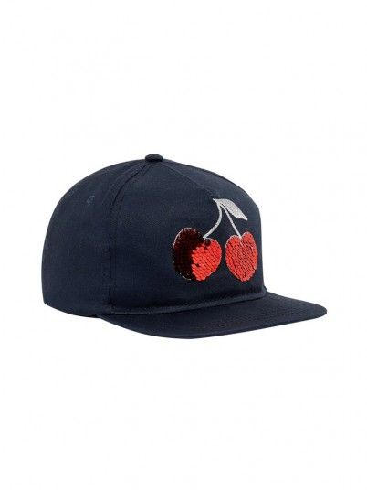 Hat Girl Navy Blue Name It