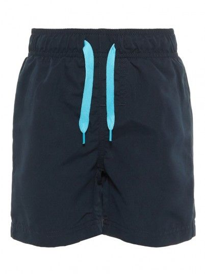 Shorts Boy Navy Blue Name It