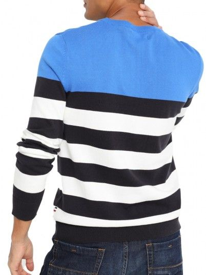 Knitwear Men Blue Produkt 12146554