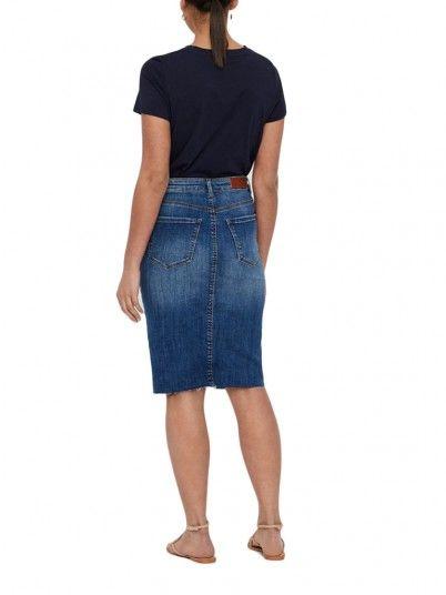 Falda Mujer Ganga Vero moda 10212278