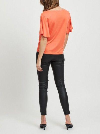 Shirt Woman Coral Vila