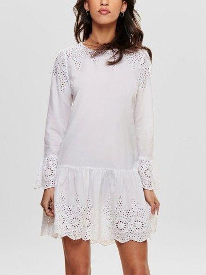 Vestidos Mujer Blanco Only 15170385