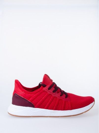 Sneaker Men Red Jack & Jones 12155438