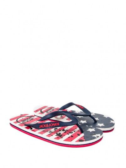 Flip Flops Men Navy Blue Jack & Jones 12150544