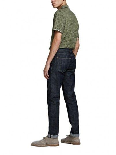 Polo Shirt Men Red Jack & Jones 12154548