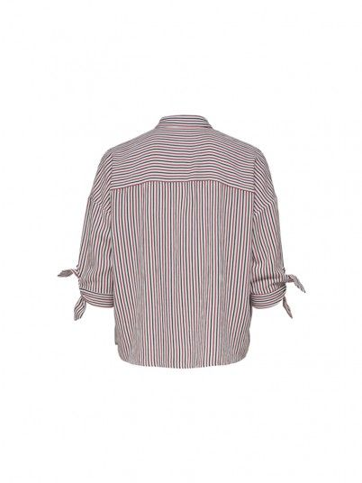 Shirts Women Red Stripe Only 15176409