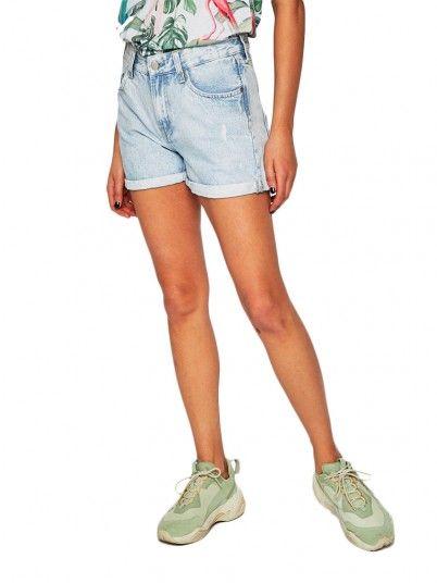 Pantalones cortos Mujer Por Supuesto Los Pantalones Vaqueros Pepe Jeans PL800847PA6