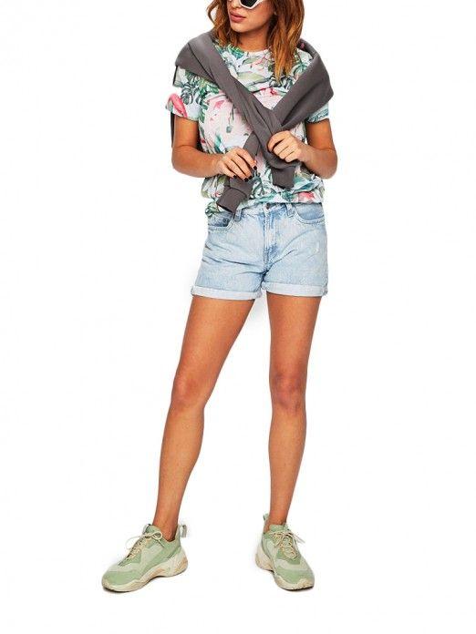 Supuesto Vaqueros Jeans Pantalones Mujer Pl800847pa6 Por Pepe Cortos Los SqzGMpUV