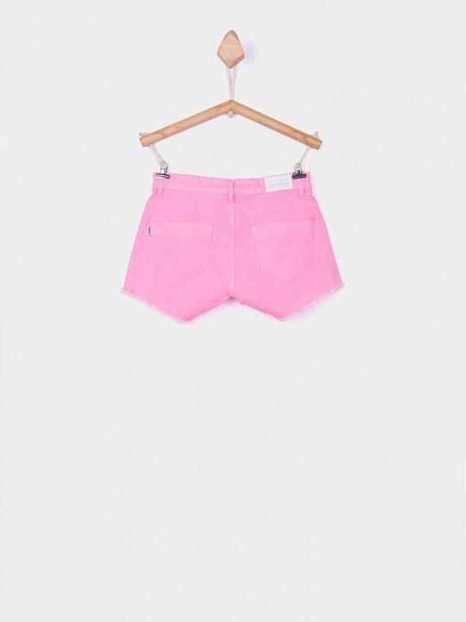 Pantalones Cortos Niña Rosa Tiffosi Kids