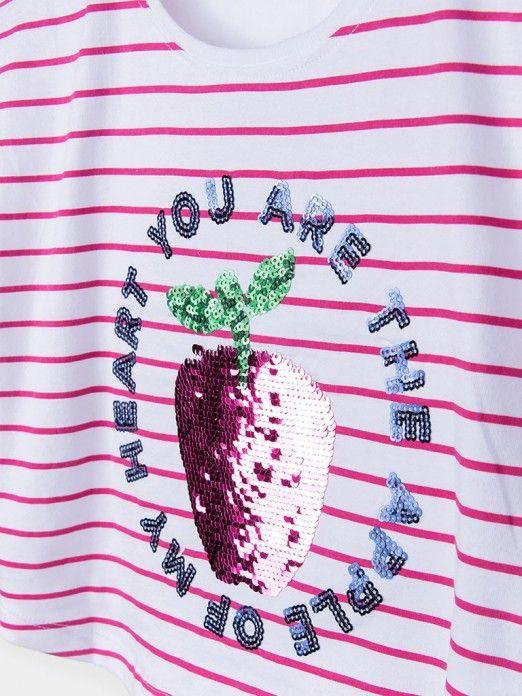 T-Shirt Menina Marni Tiffosi