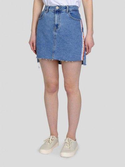 Skirt Women Denim Only 15173753