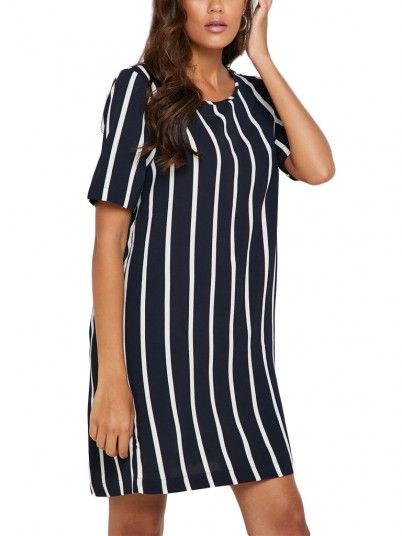 Dress Women Navy Blue Only 15174657