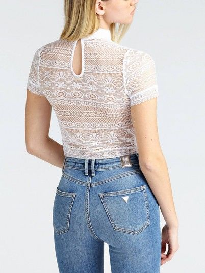 TOP MULHER ADELAIDE GUESS