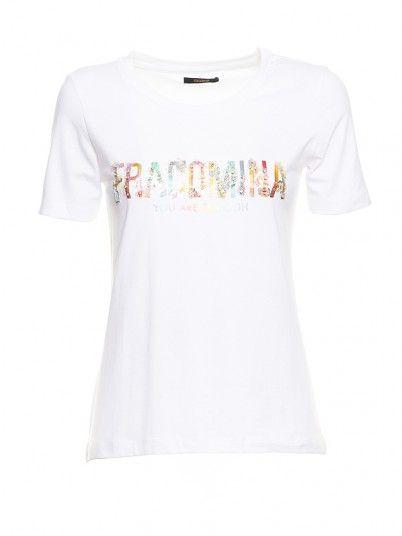 T-Shirt Women White Fracomina FR19SM305
