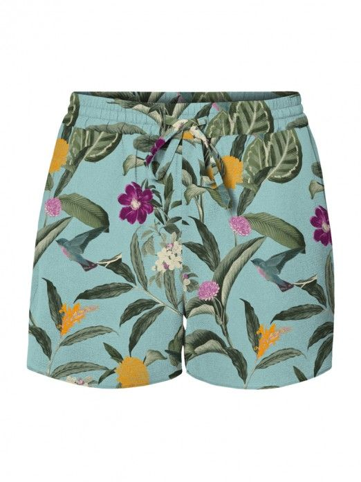 Shorts Woman Green Vero Moda